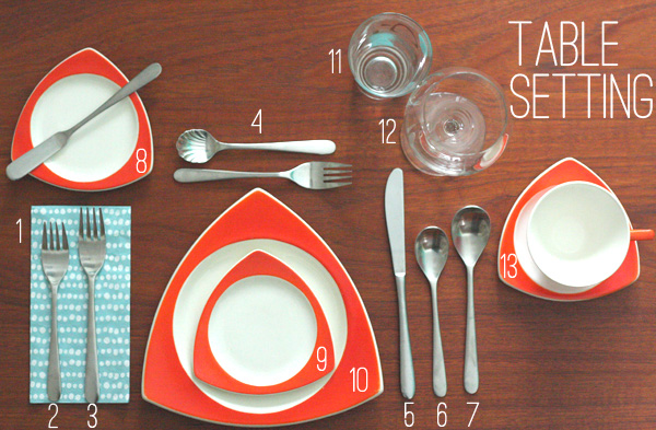 Oh So Lovely Vintage Blog Vintage Table Setting Photo