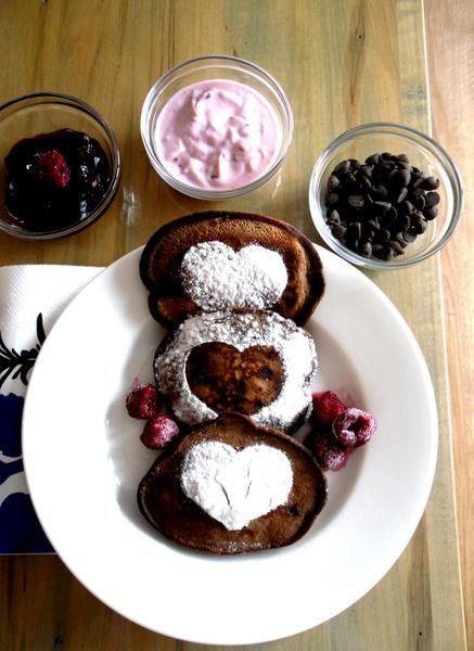 Countlan Valentine's Day Pancakes