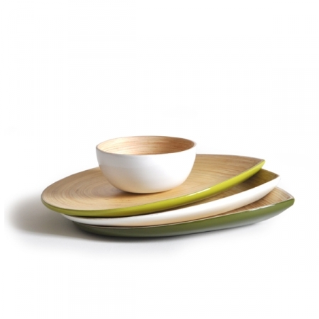 Ekobo Home Bamboo Tableware