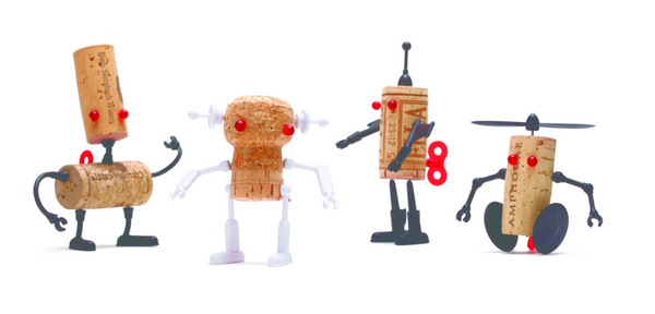 Robot Corkers from Reddish Studio