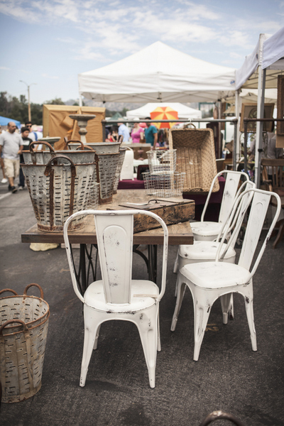 Vintage Chairs & Baskets