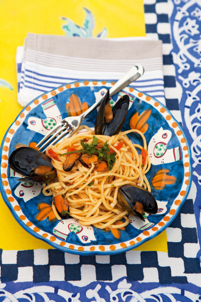 pp 80-1 Spaghetti with muscles