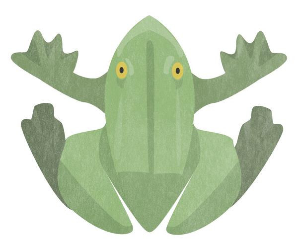 Bordallo Pinheiro Frog Figurine