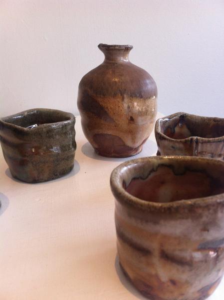 Clark Woodfire ceramics