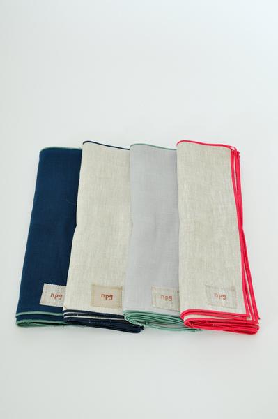 Koromiko NPG linen napkins