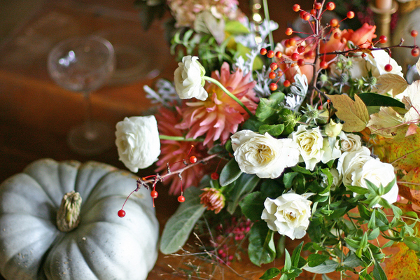 Reinhardt Blooms Thanksgiving Arrangement