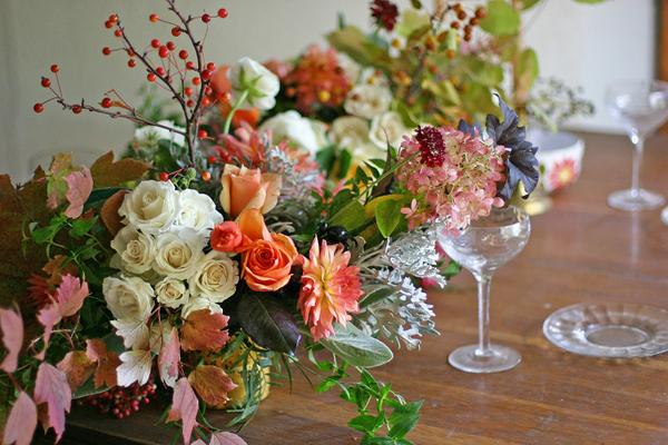 Reinhardt Blooms Thanksgiving Arrangement