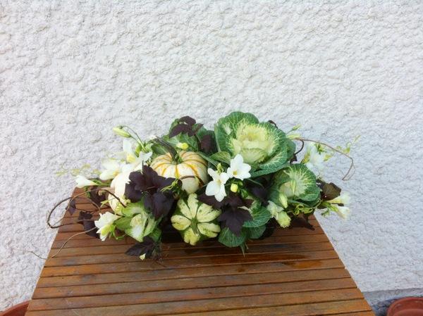 Fache Floral Designs Britney Lee Fache Thanksgiving Arrangement