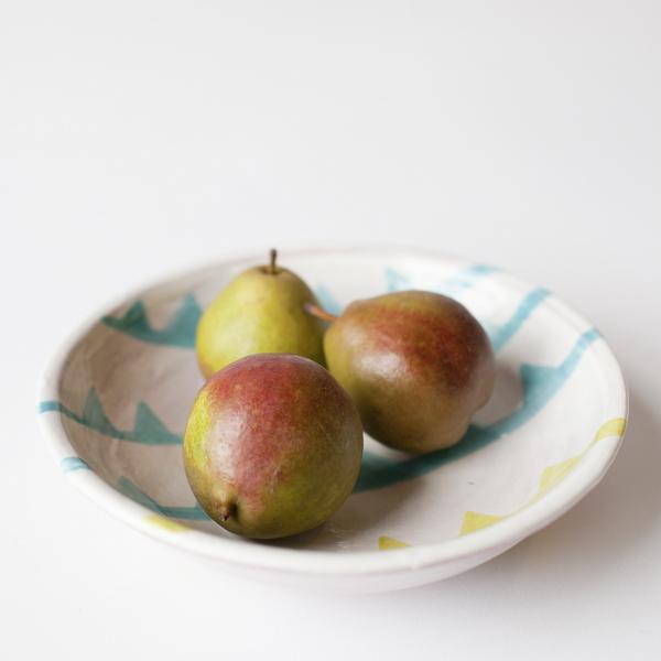 A Mano shallow bowl