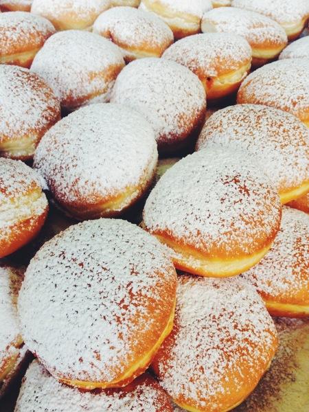 Katie Gonzalez Thanksgivukkah Donuts