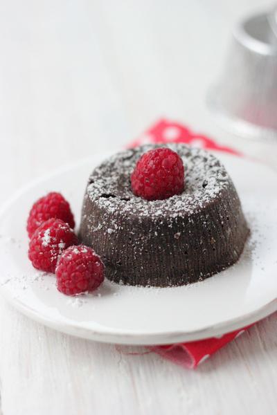 Dolce Salsarosa Chocolate Fondant Cake