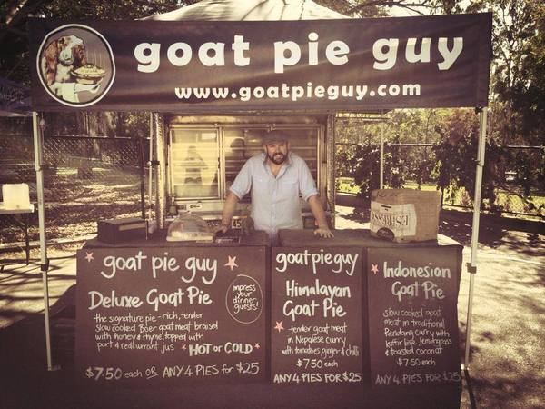 Goat Pie Guy