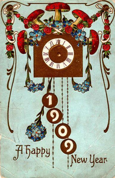 Vintage NYE Card 4
