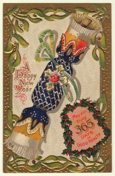 Vintage NYE Card 8