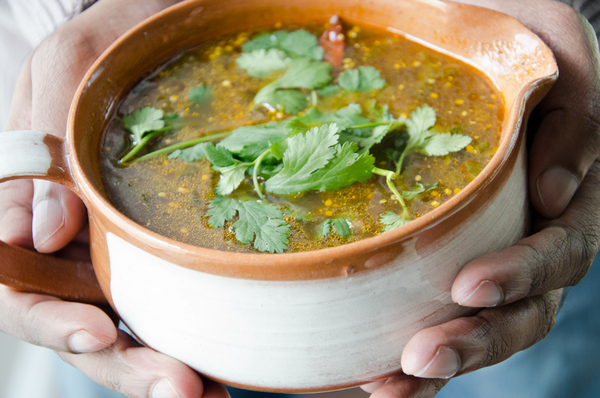 Ishay Govender Food and the Fabulous Rasam Soup