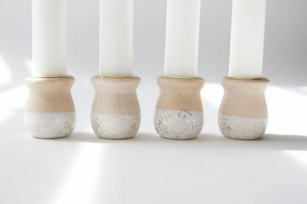 wind&willow glisten candle holders BRIKA