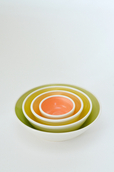 Nesting Bowls by Karin Lorenc