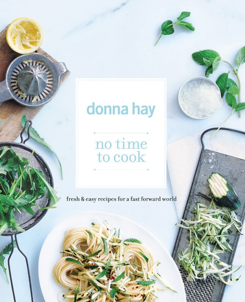 Donna Hay No Time to Cook Cover