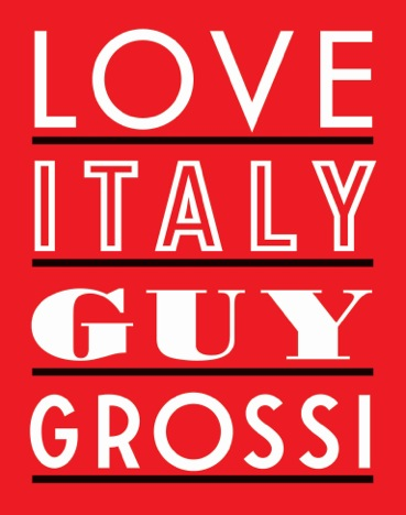 Guy Grossi Love Italy Cover