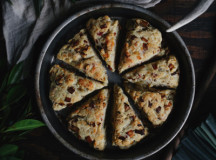 Caramelized Shallot and Gouda Scones 4