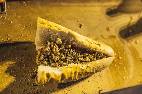 Kokorec Grilled Lamb Intestines Fatih Gokmen Istanbul